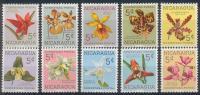 Nicaragua - Orchidées 859/868 * - Orchids