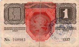 1 KORONE Korona Kruna 1916  Seal - Hungría