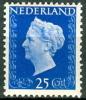 NEDERLAND 1947 25ct Lichtblauw Koningin Wilhelnia PF-MNH-NEUF - 1891-1948 (Wilhelmine)