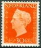 NEDERLAND 1947 30ct Oranje Koningin Wilhelnia PF-MNH-NEUF - Period 1891-1948 (Wilhelmina)