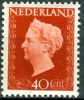 NEDERLAND 1947 40ct Roodbruin Koningin Wilhelnia PF-MNH-NEUF - 1891-1948 (Wilhelmine)