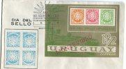 DIA DEL SELLO URUGUAYO 20 DE DICIEMBRE DE 1972  SOBRE 1º DIA DE EMISION   OHL - Uruguay