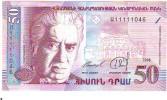 NEUF ** ARMENIE - 50 Drams - ( Thème Au Verso Danseurs Danse ) NEUF - Armenien
