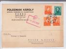 HUNGARY - 1939 - CARTE POSTALE COMMERCIALE De KASSA Pour HALLE (GERMANY)