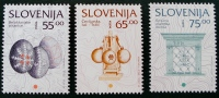 PATRIMOINE CULTUREL SLOVENE 1996 - NEUFS ** - YT 136/38 - MI 136/38 - Slovenië