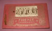 1 Album 22 Cpa Firenze Galleria Pitti - Museos