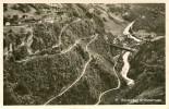AMSTEG > Luftaufnahme Verlauf Der Bristenstrasse Ca.1950 ++++ Sw Foto Karte - UR Uri