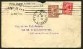 Enveloppe Avec  11/2 P GEORGES V Perforé B.C. / Ld :  BORAX CONSOLIDATED, Ltd London - Perfins
