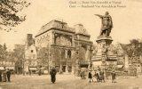 Gand. - Statue Van Artevelde Et Vooruit (FIELDPOST) - Gent