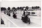 49  SAUMUR   Photo Blanchaud   Ecole De Cavalerie   Prouesses En Moto - Saumur