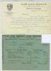 PUBLICITE DOCUMENTS CLUB ALPIN FRANCAIS  SECTION SUD OUEST BORDEAUX 1951-1952 - Publicidad