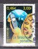 FRANCE / 2001 / Y&T N° 3374 : Téléphone Portable - Choisi - Cachet Rond - France