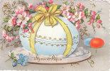 Carte Postale Ancienne Fantaisie - Joyeuses Pâques - Oeuf - Pasqua