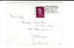 """NEDERLAND - 1954 - ENVELOPPE Avec OBLITERATION MECA """"VOOR HET KIND"""" (ENFANT) De AMSTERDAM Pour KIEL (ALLEMAGNE) - - Postal History"""