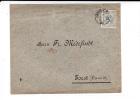 NEDERLAND - 1892 - ENVELOPPE De ARNHEM Pour FORST (ALLEMAGNE) - Periode 1891-1948 (Wilhelmina)