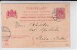"""NEDERLAND - 1906 - CARTE POSTALE ENTIER """"avec REPONSE PAYEE"""" - SANS PARTIE REPONSE - De LEEUWARDEN Pour BADEN BADEN - Postal Stationery"""