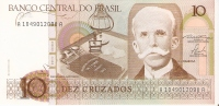 BILLETE DE BRASIL DE 10 CRUZADOS (BANKNOTE) NUEVO SIN CIRCULAR - Nigeria
