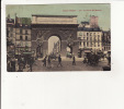 TOUT PARIS  La Porte St Martin Colorisée - Konvolute, Lots, Sammlungen