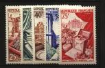 France : N° 970 à 974  Neuf **luxe Cote Y&T  45,00  €uro  Au Quart De Cote - France