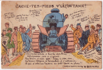 Tank Humoristique Halte-la ER 1926 Bon état - Equipment