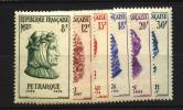 France : N° 1082 à 1087  Neuf **luxe Cote Y&T   18,50  €uro  Au Quart De Cote - France