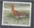 ICELAND 1988 Birds  Black-tailed Godwit - 5k FU - Used Stamps
