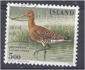 ICELAND 1988 Birds  Black-tailed Godwit - 5k FU - 1944-... Republique