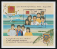 Tuvalu MNH Scott #860 Souvenir Sheet $3 Phila Nippon '01 - Tuvalu