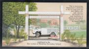 Tuvalu MNH Scott #854 Souvenir Sheet $3 Wormald 'Arrester' ARFFV - Fire Trucks - Tuvalu