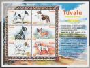 Tuvalu MNH Scott #837 Sheet Of 6 90c - Domestic Dogs - Tuvalu