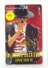 RARE * PHONECARD JAPAN * MICHAEL JACKSON (4) Telecarte Japon * Telefoonkaart Japan * MUSIC * MUSIQUE * FILM - Music