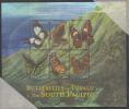 Tuvalu MNH Scott #828 Sheet Of 6 90c - Butterflies Of Tuvalu & South Pacific - Tuvalu