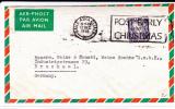 """EIRE - 1958 - ENVELOPPE Par AVION Avec MECA """"CHRISTMAS"""" De BAILE ATHA CLIATH Pour BRUCHSAL (GERMANY) - Covers & Documents"""