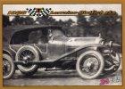 CARTE MODERNE DIMENSION 8,8/6,3 CM...LES 24 HEURES DU MANS...1925...LORRAINE DIETRICH B3-6 - Cartes Postales