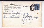 "EIRE - 1956 - RARE CARTE POSTALE Du PAQUEBOT ""SS AMERICA"" Avec OBLITERATION Sur TIMBRE Pour BERLIN (GERMANY) - 1949-... Republic Of Ireland"