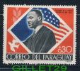 PARAGUAY  STAMP -  MARTIN LUTHER KING, 0.30 - CENTENARIO DE LA EPOPEYA NACIONAL DE 1864-1870 - USED WITH GUM - - Paraguay