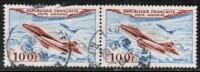 FRANCE   Scott #  C 29  VF USED Pair - Airmail