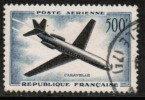 FRANCE   Scott #  C 35  VF USED - Airmail