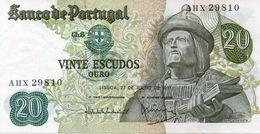 Portugal 20 Escudos Garcia De Orta P 173 1971 See Scan - Portugal