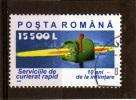 Sello De  Romania Año 2002   Yvert Nr.000   Usado - 1948-.... Repúblicas