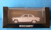 BORGWARD ISABELLA 1959 SILVER ALUSILBER METALLIC MINICHAMPS 400096000 1/43 - Minichamps