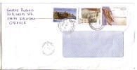 GOOD GREECE Postal Cover To ESTONIA 2011 - Good Stamped: Ships - Greece