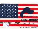 Télécarte Japon * USA Reliee (163a) USA RELATED *  Japan Phonecard * - Advertising