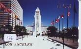Télécarte Japon * USA Reliee (168) USA RELATED *  Japan Phonecard * LOS ANGELES - Landscapes