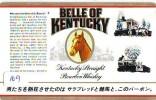 Télécarte Japon * USA Reliee (169) USA RELATED *  Japan Phonecard * BELLE OF KENTUCKY * HORSE - Landschappen