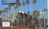 Télécarte Japon * USA Reliee (171) USA RELATED *  Japan Phonecard * LOS ANGELES - Landscapes