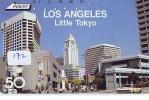 Télécarte Japon * USA Reliee (172) USA RELATED *  Japan Phonecard * LOS ANGELES - Landscapes