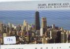 Télécarte Japon * USA Reliee (174) USA RELATED *  Japan Phonecard * SEARS * CHICAGO * ILLINOIS - Landschappen