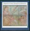 Tuvalu MNH Scott #814 Sheet Of 6 90c Allegories Of Peace Through The Millenium - Tuvalu