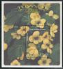 Tuvalu MNH Scott #812 Souvenir Sheet $3 Scrambled Egges (Cassia Surattensis) - Flowers - Tuvalu